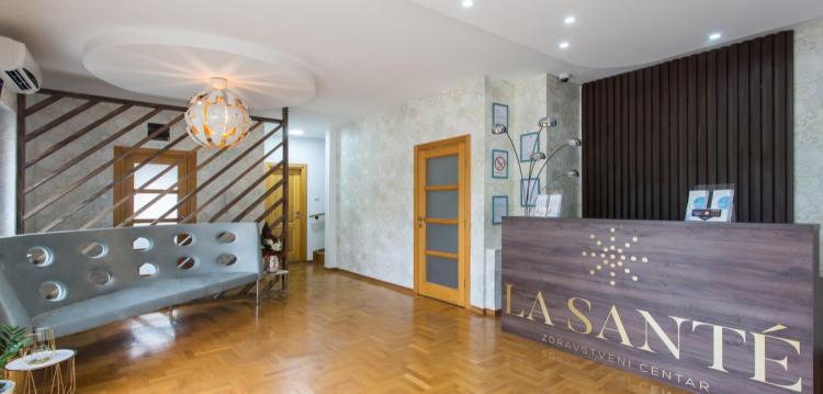 cekaonica privatne ordinacije La Sante zdravstvenog centra u Beogradu